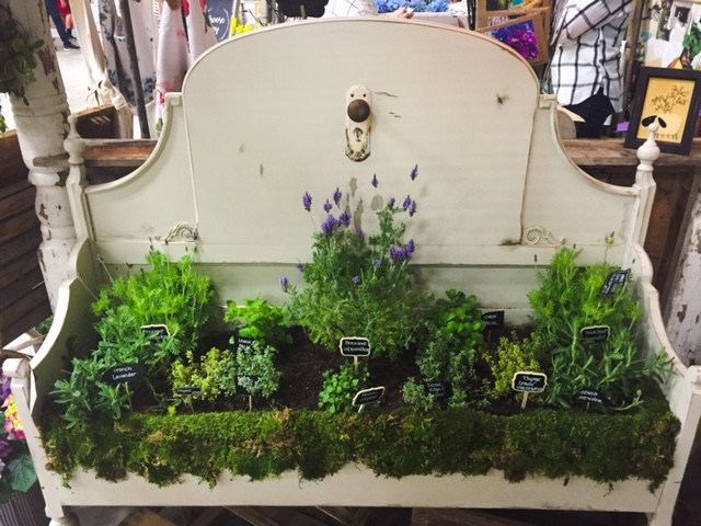 Vintage Headboard Herb Garden Photo 7